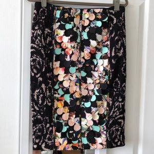 NWT Beguile by Byron Lars Skirt size 8